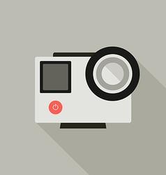 Go pro camera vector