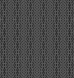 Grey seamless pattern geometric shape background vector image