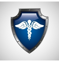 Symbol medicine health icon vector