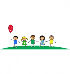 Kids illustration vector