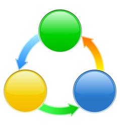 Diagram vector image