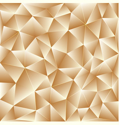 Light beige polygonal background vector