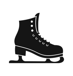 Skates icon in simple style vector image vector image