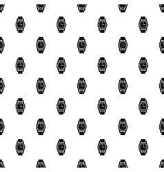 Wrist watch pattern simple style vector