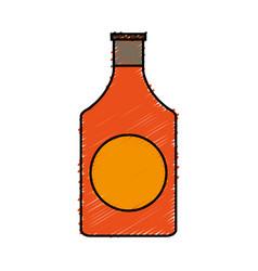 Fragance bottle icon vector