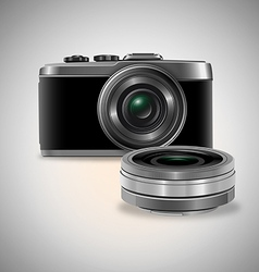 Lens preview vector