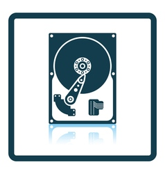 Hdd icon vector