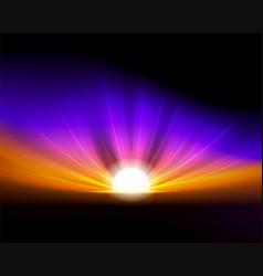 Colorful fantastic background vector