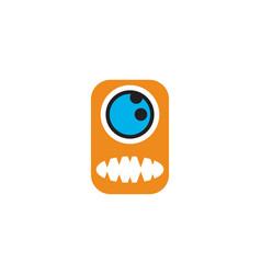 Monster logo vector
