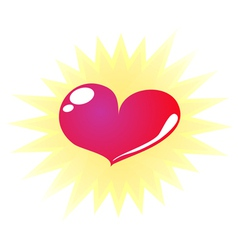 Super love vector image vector image