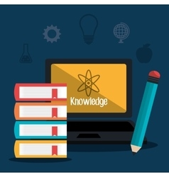 Education and knowledge vector