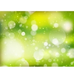 Spring Bokeh background EPS 10 vector image