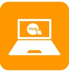 Help on laptop vector