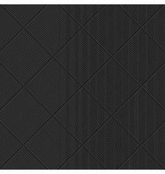 Black diagonal textured pattern vector image