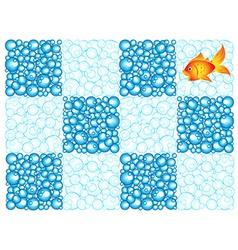 Bubble checkerboard vector