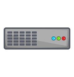 Server icon cartoon style vector