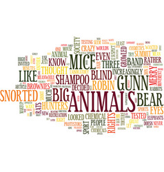 The animal rights summit text background word vector