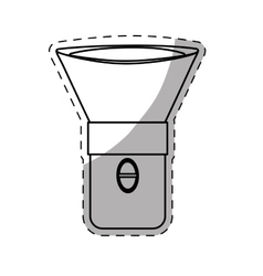 Flashlight or lantern icon image vector