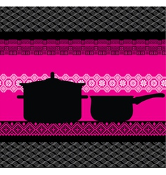 abstract Pan vector image vector image
