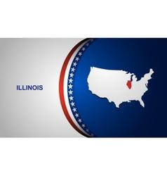 Illinois vector image vector image
