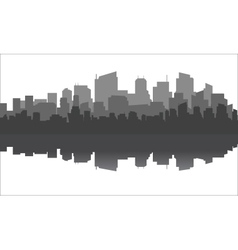 Modern urban civilization vector
