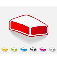 Realistic design element soap vector