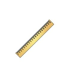 Ruler computer symbol vector