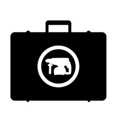 storage bag drills vector image