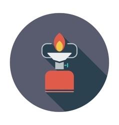 Camping stove vector