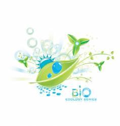 bio collage vector image