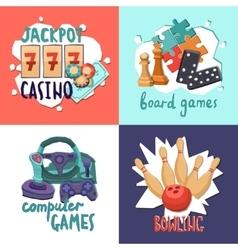 Game design concept vector