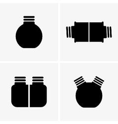 Gun oiler cans vector image vector image