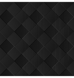 Black diagonal wicker pattern vector image