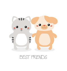 best friend forever best friend forever vector image