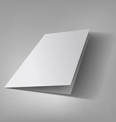Bifold brochure template vector image vector image