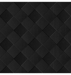 Black diagonal wicker pattern vector