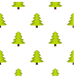 Canadian fir pattern seamless vector