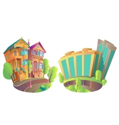 Houses 1 vector