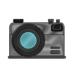 photographic camera icon vector image
