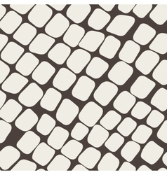 Seamless brown pattern with paving stone vector