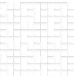 Seamless white squares pattern abstract background vector