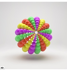 Sphere 3d abstract spheres composition vector