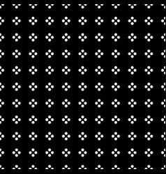 white dot in square shape on black background vector image