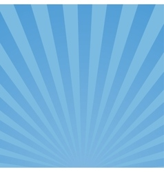 Burst blue background vector