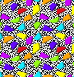 Bright rainbow abstract seamless pattern in style vector