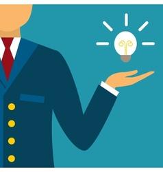 Innovative business idea vector image vector image