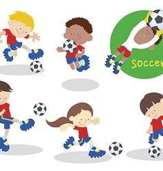 Soccerteam 02 vector