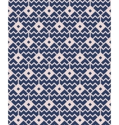 Blue seamless geometric pattern vector