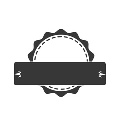 Seal stamp with ribbon icon label and banner vector