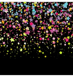 Background with stars design template vector